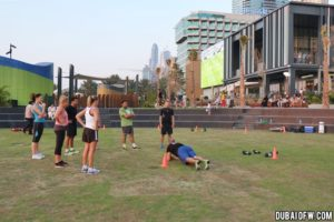the beach jbr exercise