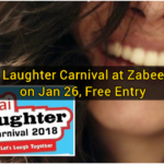Dubai Laughter Carnival at Zabeel Park on Jan 26, Free Entry