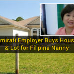 UAE Employer Buys House & Lot for Filipina Nanny