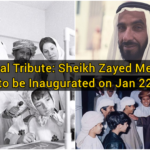 National Tribute: Sheikh Zayed Memorial to be Inaugurated on Jan 22