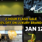 2-Hour FLASH Sale: 90% OFF on All Items from this Shop Selling Luxury Brands