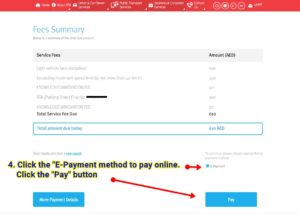 guide to paying dubai traffic fine online