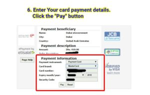 how to pay car traffic fines online