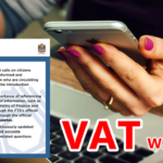 WARNING: Avoid False Info and Rumours on VAT