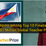 Filipino among Top 10 Finalists for $1 Million Global Teacher Prize