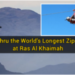 Fly thru the World's Longest Zip Line at Ras Al Khaimah