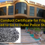 Good Conduct Certificate for Filipinos: No Need to Go to Dubai Police Stations