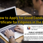 How to Apply for Good Conduct Certificate for Filipinos in the UAE