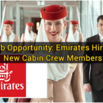 Job Opportunity: Emirates Hiring New Cabin Crew Members