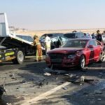 44 Vehicle Pile-up, 22 People Injured in Car Crash in Abu Dhabi