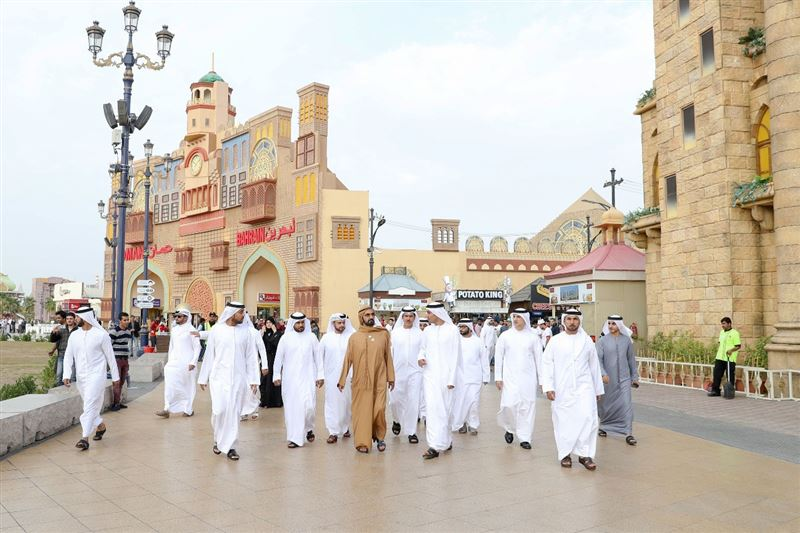 global village dubai sheikh
