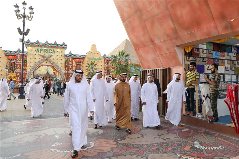 global village sheikh mohammed