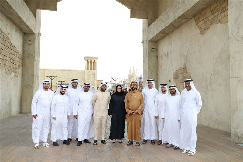 sheikh mohammad tours global village