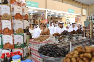 sheikh mohammed in global village