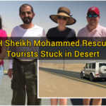 HH Sheikh Mohammed Rescues Tourists Stuck in Desert