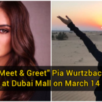 """Meet & Greet"" Pia Wurtzbach at Dubai Mall on March 14"