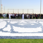"New Record for ""World's Largest Notebook Mosaic Logo"" Set in UAE"