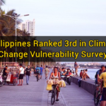 Philippines Ranked 3rd in Climate Change Vulnerability Survey