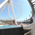 Sheikh Mohammed Visits Bluewaters Island Project