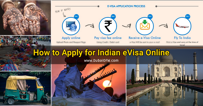 how to apply india evisa online