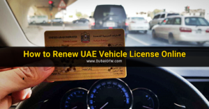 renew uae vehicle license online