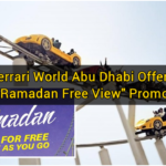 "Ferrari World Abu Dhabi Offers ""Ramadan Free View"" Promo"