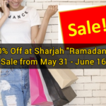 "Up to 80% Off at Sharjah ""Ramadan Nights"" Sale from May 31 – June 16"