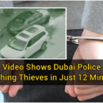 Video Shows Dubai Police Catching Thieves in Just 12 Minutes