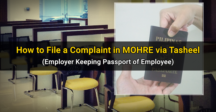 how to file complaint tasheel