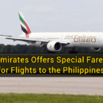 Emirates Offers Special Fares for Flights to the Philippines