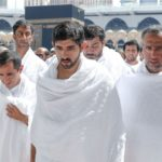 In Photos: Prince Hamdan Performs Umrah with 'Unknown Soldiers'