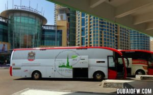 Abu Dhabi central bus station