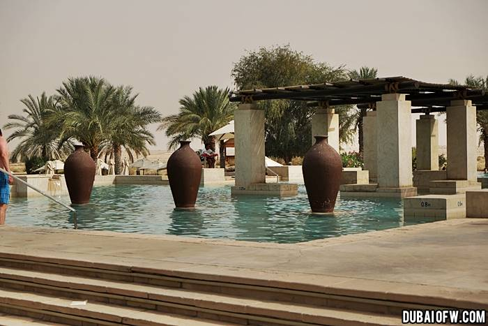 bab al shams desert resort entrance