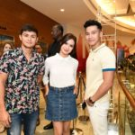 Filipino Celebrities Erich Gonzales, Matteo Guidicelli, Enchong Dee in Al Ghurair Centre for Global Pinoy Idol