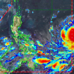 Typhoon Mangkhut barrels towards the Philippines. Image Credit: PAGASA Website