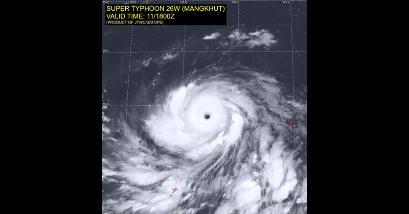 Philippines Super Typhoon Ompong 2