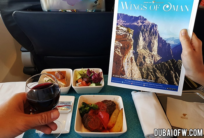 business class experience oman air