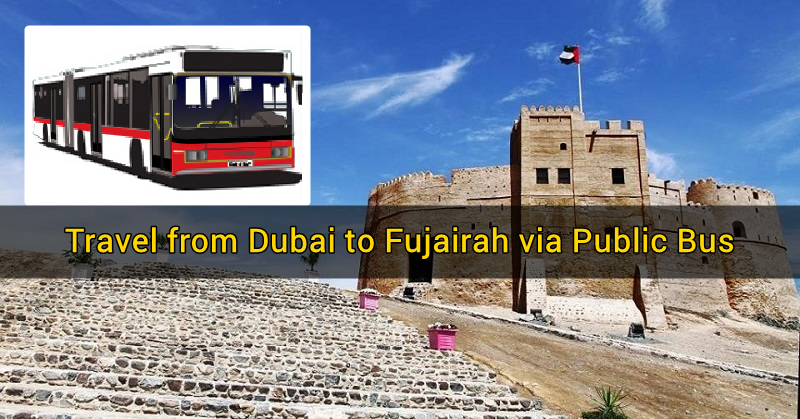 dubai to fujairah via bus