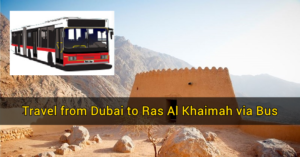 dubai to ras al khaimah via bus
