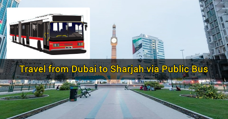 dubai to sharjah public bus 2