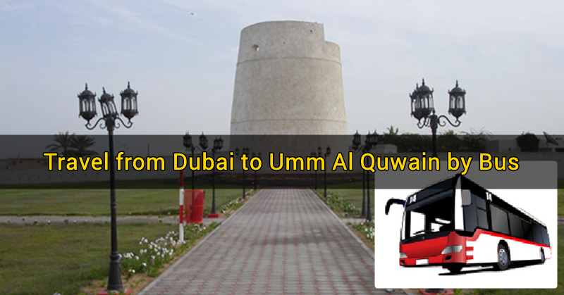 dubai to umm al quwain via bus