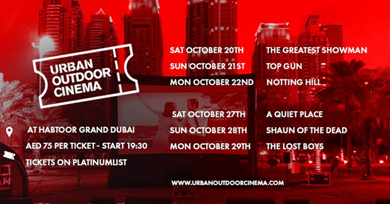 Outdoor Cinema Returns to Dubai Marina this Month