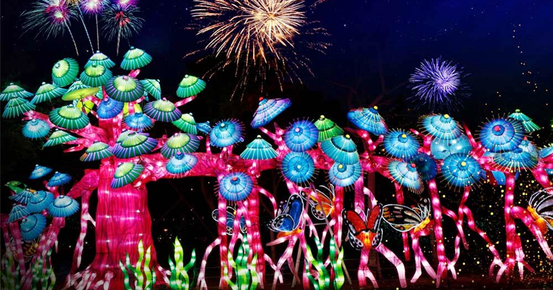 Dubai Garden Glow Lights up Anew on its Fourth Season