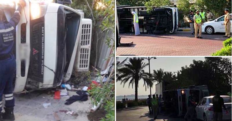 accident the palm jumeirah