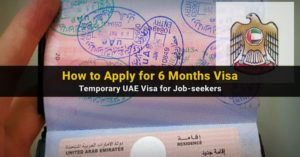 how to apply six months visa