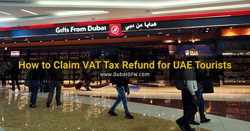 how to claim tax refund uae tourist
