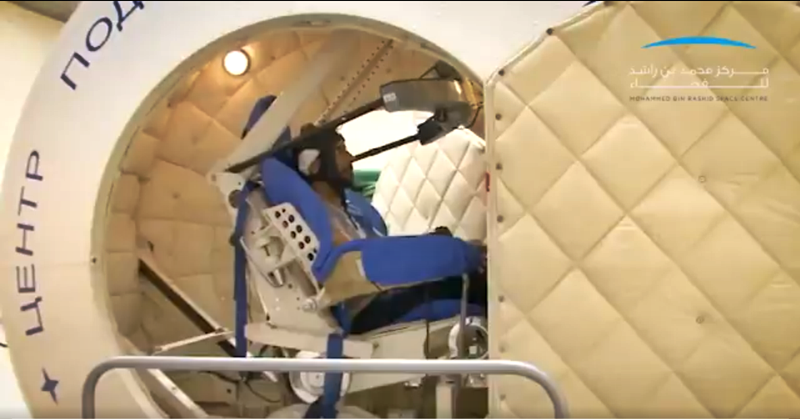 WATCH: UAE Astronauts Undergo High-speed Test as Part of Space Training