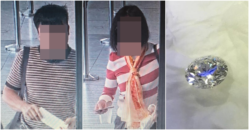 Asian Couple Steals AED 300K Diamond in Dubai Gets Arrested in India 6