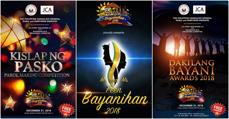 Calling on Filipinos to Join Pageant Contests at Bayanihan Festival 2018 6