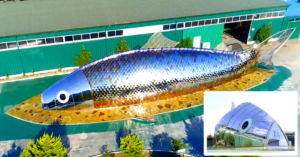 Foreign Firm to Build Giant Fish-shaped Building in Fujairah 1
